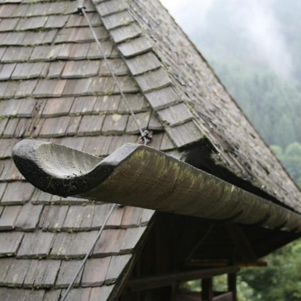 Rite Way Gutters Wood Rain Gutters